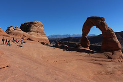 Delicate Arch in Arches National Park, Utah (Hazboy) Tags: hazboy hazboy1 arches arch delicate national park parc utah us usa america october 2017