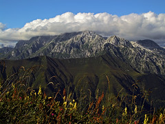 Kanin from near the bivouac on Musci (Vid Pogacnik) Tags: slovenia slovenija julianalps musci outdoors hiking landscape mountain kanin