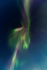 AAB_3921s (savillent) Tags: aurora borealis northern lights north arctic landscape night photography nocturne nocturnal dark mysterious ufo alien sky skies stars universe astrology snow winter ice road freeze savillent francis anderson red green purple blue neon change lunar nikon travel nature discover tuktoyaktuk northwest territories nwt nt xfiles dream world canada climate black acdc pink floyd polar cold february 2018