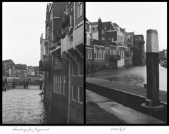 Searching (gelelie / Gerda) Tags: film analogue canonae1 dordrecht