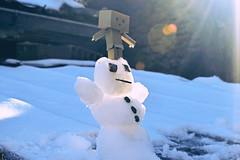 Danbo by RK (7) @winter2018 (Robert Krstevski) Tags: robertkrstevskiblogspotcom robkrst robertkrstevski robertkrstevskiblogspotmk danbo danboard danbomacedonia danbostory danborou danboamazon snow winter winter2017 snow2017 light nikon nikond3300 europe balkan macedonia travel revoltech robot robots minimalisam funny cute данбо life