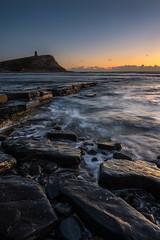 a last glimpse (Derek Robison) Tags: dorset landscape sunset coast kimmeridgebay uk seascape sea longexposure rocks