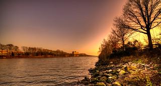 Maas-Waalkanaal, Nijmegen, The Netherlands.