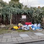 Regular dumping spot Kimberley Road, N17. thumbnail