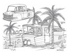 Bootamunga (rod1691) Tags: myart art sketchbook bw scifi grey concept custom car retro space hotrod drawing pencil h2 hb original story fantasy funny tale automotive illistration greyscale moonpies sketch sexy camper rv