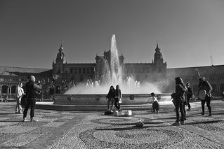 La fuente, las burbujas y los recuerdos - The fountain, the bubbles and the memories