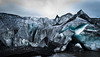 Iceland Solheimajokull Glacier (ryanlien) Tags: iceland glacier ice landscape nature blue d3300