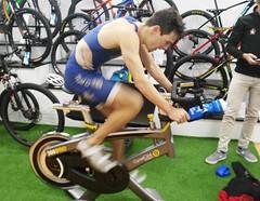 Jaime Rodado triatlón Indoor team clavería triatlón World