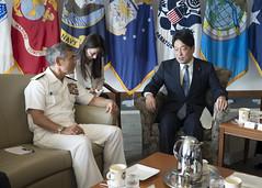 "Japan's Minister of Defense Visits USPACOM (#PACOM) Tags: uspacificcommand japan navy joint ministerofdefense admharryharris camphmsmith hawaii unitedstates us ""pacom"