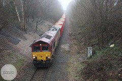 DB 66199 (Mike McNiven) Tags: dowlow theale hazelgrove davenport stockport freight db class66