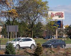 The Phantom Chi-Chi's sign... (Nicholas Eckhart) Tags: america us usa livonia michigan mi detroit former closed chichis mexican restaurant sign defunct