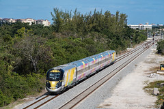 50 Years (Albert (Rudy) R.) Tags: brightline bl trains train boca raton florida railfanning buff nikon siemens charger modern passenger double track east coast railway fec mainline historic strike 1960 1960s 1968