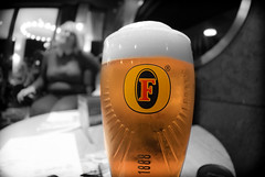 Pint of Fosters. . . . . (CWhatPhotos) Tags: cwhatphotos color colour select selection drinking lager side view face pint fosters amber nectar glass pub inn bar drink olympus epl5 samyang fisheye prime lens pictures picture photographs photograph pic pics foto fotos image images with that have which contain public house
