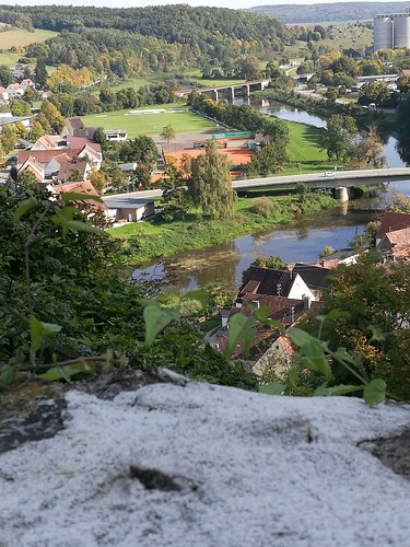 View from Harburg Castle Germany (1)