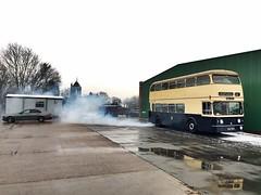Smoke on the water (DOC26V) Tags: 3780 gardner birminghamcitytransport bct wmpte fleetline bammot wythall kox780f