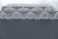 Walking the line (Landanna) Tags: embroidery embroideryonpaper broderi broderipåpapir borduren bordurenoppapier bullionknot innovative original paperart paperwork handmade handgemaakt handwerk håndlavet art craft artwork white wit hvid minimalistic