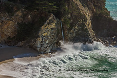 PV0_0002 (PrashantVerma) Tags: california pch pacific coast highway big sur julia pfeiffer beach mcway falls waterfall ocean sea river canon 5d canon5dmarkiv