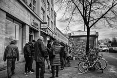 Kreuzberg Mehringdamm (Berlin-Knipser) Tags: berlin blackandwhite bw blackwhite artinbw schwarzweis schwarzweiss sw sonya7ii canonfd deutschland germany kreuzberg architektur