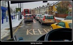 Going nowhere (BristolRE2007) Tags: london enfield traffic