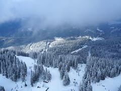 Let me take you somewhere beyond... (bulgit) Tags: beyond unknown snow trees winter lift far fog white cold pamporovo bulgaria mountain