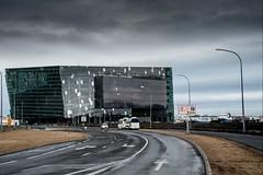 Islande, Reykjavik, 20 (Patrick.Raymond (5M views)) Tags: isalne reykjavik mer hdr nikon ville cité port building