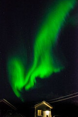 Witnessing Northern lights at it's very best. Ivalo, Finland - January 2018. (samujjwalsahu) Tags: northernlights auroraborealis lapland finland ivalo sky nightscape naverniemiholidaycentre nightphotography night nightsky green arcticcircle nikon nikond800 primelens winter suomi