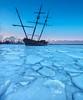 La Grande Hermine (Georgi Marinov) Tags: landscapes nature winter ice lakes lakeontario stcatharines niagararegion canon5ds canonef1635mm lagrandehermine