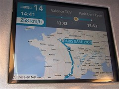 From Spain to France - AVE to TGV (TeaMeister) Tags: europe train travel interrail seat61 cities rail spain espana malaga andalusia renfe sncf france ave tgv europeanunion journey paris london eurostar createyourownstory map speed