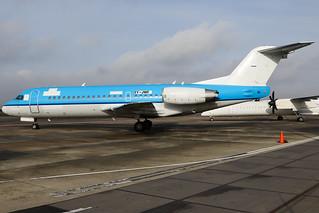 Jetways Airlines - Fokker F70 - 5Y-JWF