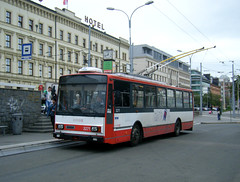 Brno trolleybus No. 3271 (johnzebedee) Tags: transport tram publictransport vehicle skoda brno czechrepublic johnzebedee skoda14tr