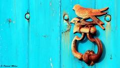 Rusty (patrick_milan) Tags: bue blau bleu rouille rusty door porte