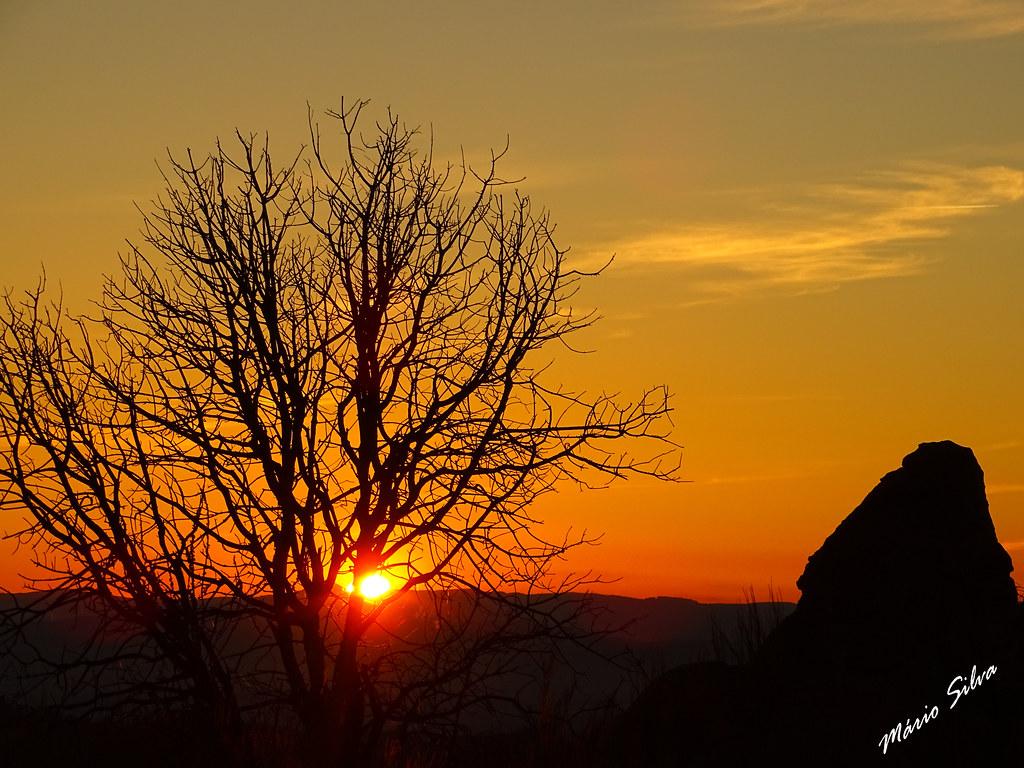 Águas Frias (Chaves) - ... pôr do sol invernio...