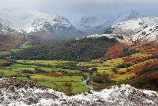 Borrowdale in Winter
