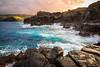 At the Nakalele Blow Hole, Maui (Julian Appel) Tags: maui nakalele blowhole sunset