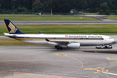 SINGAPORE AIRLINES A330-300 9V-STZ 001 (A.S. Kevin N.V.M.M. Chung) Tags: aviation aeroplane aircraft airport airbus spotting plane singapore changi apron airlines a330 a330300