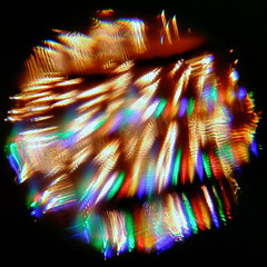 20171231_191323 (giltay) Tags: christmaslights fairylights kaleidoscope toy prismlens