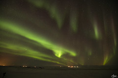 Danse céleste (**Meg's Photos**) Tags: auroreboréale islande auroraborealis northernlights