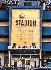 Facade Of Stadium Motor Lodge; Bronx, New York (hogophotoNY) Tags: digital iphonecamera hogophoto hogo building 2018 iphonese iphone newyorkstate newyork nystate nyc bronxny bronx usa us lodge motor motorlodge stadium facade