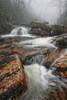 Downpour (R. Keith Clontz) Tags: mountaiinstream splashingwater rain rainy winter miisty rkeithclontz rainyday mossyrocks boulders fog foggy