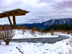 Mt Si snowy day (ScottElliottSmithson) Tags: dtwpuck scottsmithson scottelliottsmithson pacificnorthwest nature landscape iphone