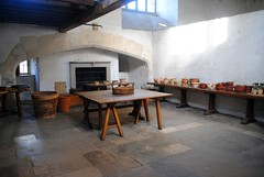 Oven and ovenware (zawtowers) Tags: hampton court palace east molesey surrey henry viii historic royal residence saturday february 17th sunny dry visit henryviiikitchens kitchens large scale cooking era oven ovenware earthenware