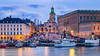 _MG_3007 - Storkyrkan blue hour pano (AlexDROP) Tags: 2017 stockholm sweden travel longexposure architecture city urban canon6d ef241054lis best iconic panoramic skyline famous mustsee picturesque postcard europe color bluehour lake