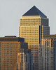The Golden Tower (JH Images.co.uk) Tags: hdr dri skyline canarywharf skyscraper skyscrapers onecanadasquare london sunset light golden architecture