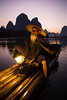 Cormorant Fisherman in Guilin (mlhell) Tags: china cormorantfishermen guilin karstmountains landscape lijangriver mountains nature night portrait river rural xingping