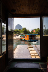Guilin Ferry (mlhell) Tags: china ferry guilin karstmountains lijangriver mountains river rural xingping