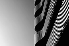 high-contrast (christikren) Tags: austria architecture vienna christikren city blackwhite bw building sw citygate tower contrast balcony black shadow linescurves lines noiretblanc detail facade balconies