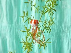 100-Jellyfish (2) (tinyteensdolls) Tags: amigurumi craft crochet crochetmini crochettoy crochetminiature toy tinyamigurumi tiny threadcrochet miniature mini microcrochet micro miniamigurumi jellyfish seacreature