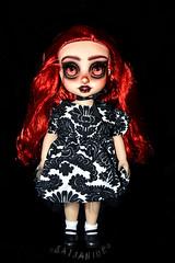 Sabine (saijanide) Tags: disney animator doll animators dolls custom repaint ooak faceup artist vampire goth dark ariel