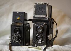 Un peu avant le numérique (afantelin) Tags: photographe appareilphoto argentique ancien vieux fothflex voigtländer
