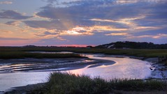(mahler9) Tags: october 2017 jaym capecod provincetown moors sunset sundown cloud marsh wetland newengland violethour